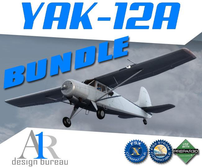 A1R Design Bureau - Yak-12A Bundle