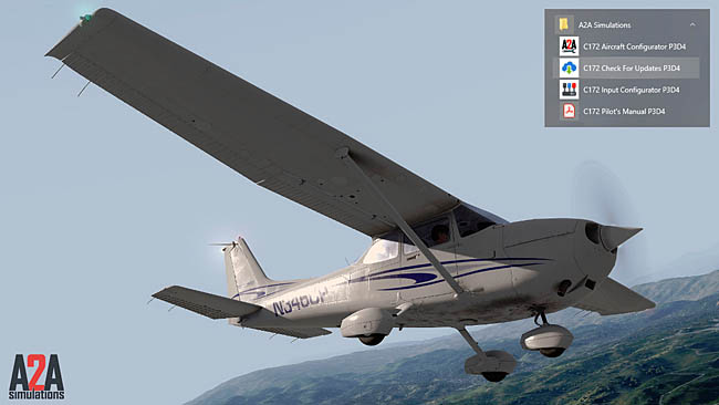 A2A Simulations Updates C172 Trainer