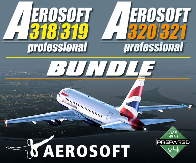 Aerosoft - A320 Family Professional Bundle for P3D v4.4