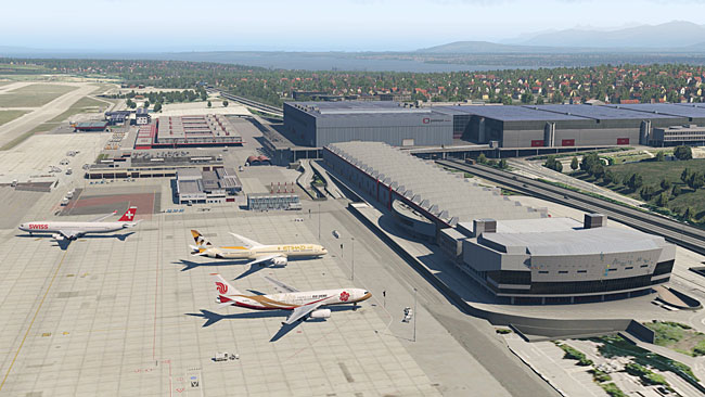 Aerosoft - Airport Geneva For X-Plane 11