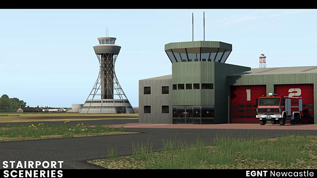 Newcastle EGNT For XP11 Coming From Aerosoft / Stairport
