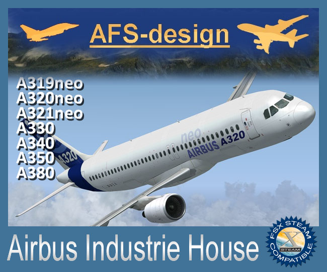 AFS-Design - Airbus Industrie House For FSX Steam