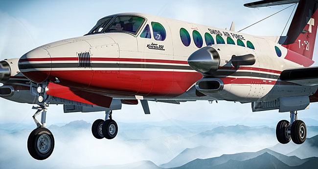 AirFoilLabs - King Air 350