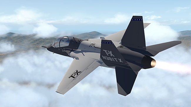 AOA Simulations - Boeing T-X