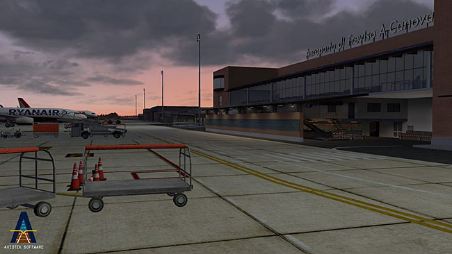 Aviotek Simulation Software - Treviso Airport