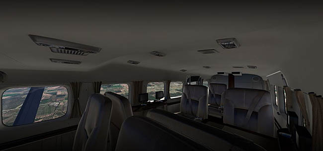 Carenado - Grand Caravan EX G1000 For X-Plane 11 interior