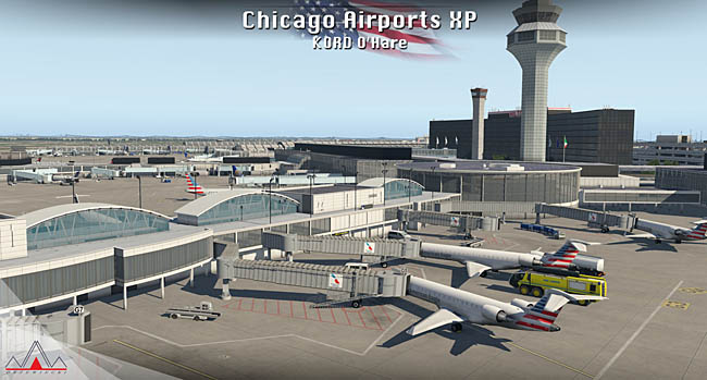 Drzewiecki Design - Chicago Airports XP - KORD