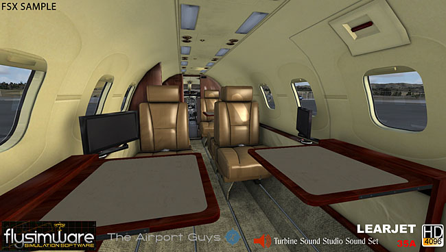 Flysimware - Learjet 35A Updated