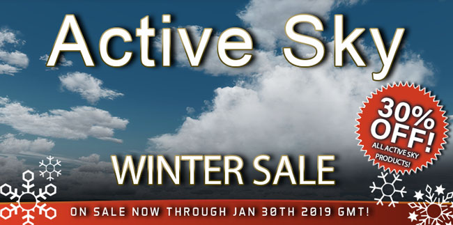 Active Sky Winter Sale