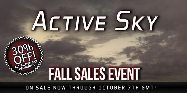 Active Sky Fall Sale