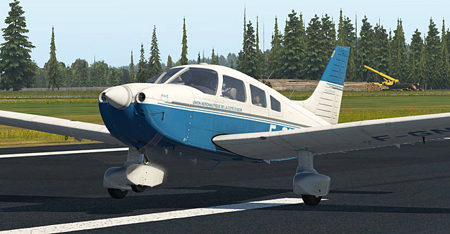Just Flight - PA-28-181 Archer III