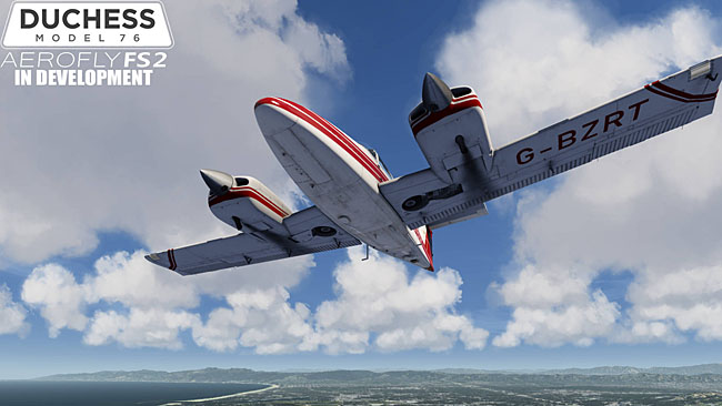 Just Flight - Duchess Model 76 for Aerofly FS 2