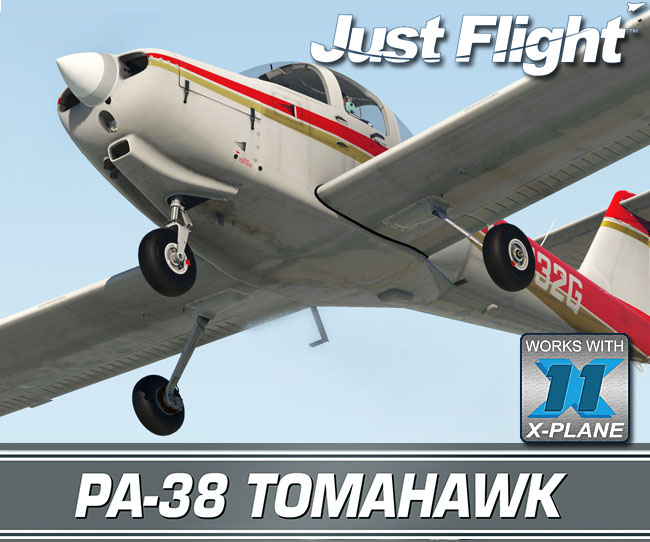 Just Flight Releases PA-38 Tomahawk For X-Plane 11