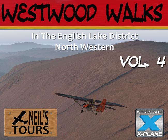 Westwood Walks In The Lake District Volume 4 North West for X-Plane