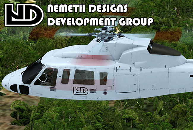 Nemeth Designs Announces Sikorsky S-76