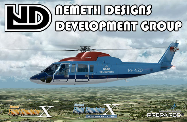 Nemeth Designs Development Group - Sikorsky S-76A Spirit