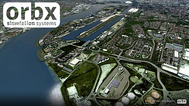 Orbx - EGLC London City Airport
