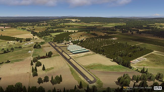 Orbx - 7S3 Stark's Twin Oaks Airpark For X-Plane 11