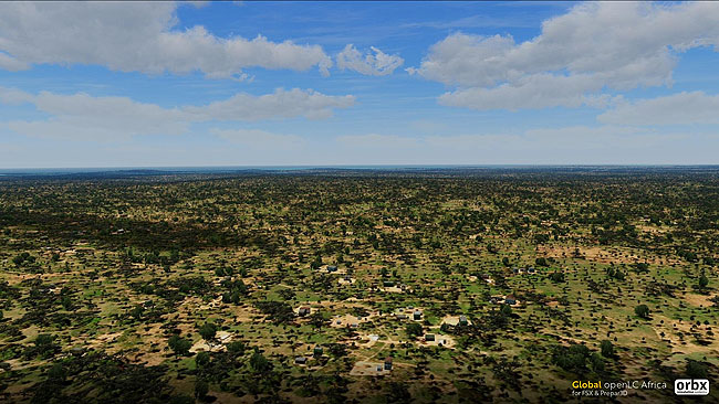 Orbx - Global openLC Africa - Mozambique