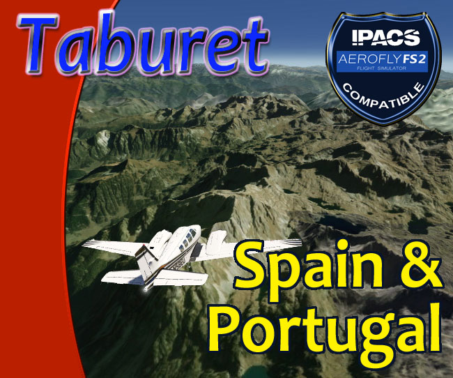 Taburet 19 M Mesh - Spain and Portugal for Aerofly FS 2