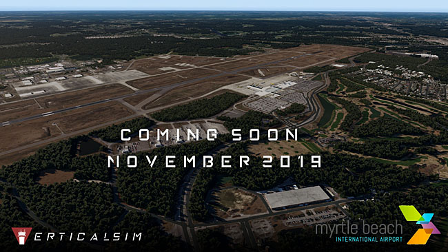 Verticalsim Studios Previews Myrtle Beach Airport