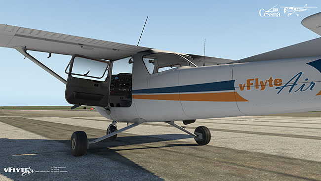 vFlyteAir Simulations - Cessna 150 Commuter