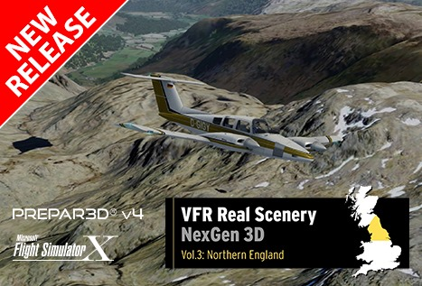 Just Flight Releases VFR Real Scenery Vol. 3
