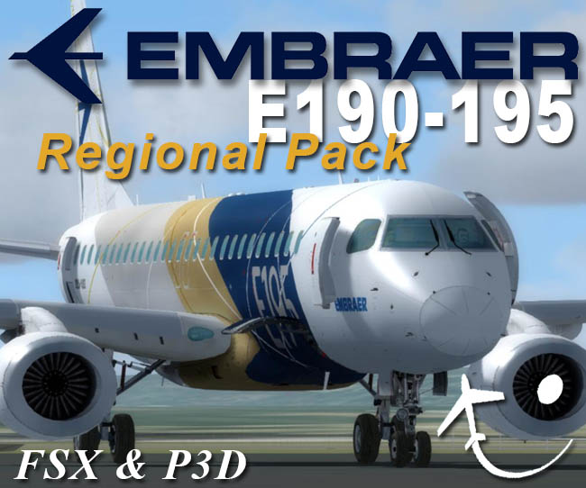 Virtualcol Releases Embraer E190-195 Regional Pack FSX/P3D