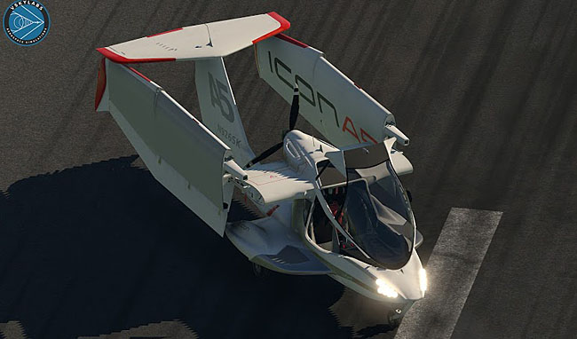 VSKYLABS Test-Pilot: ICON-A5 Project