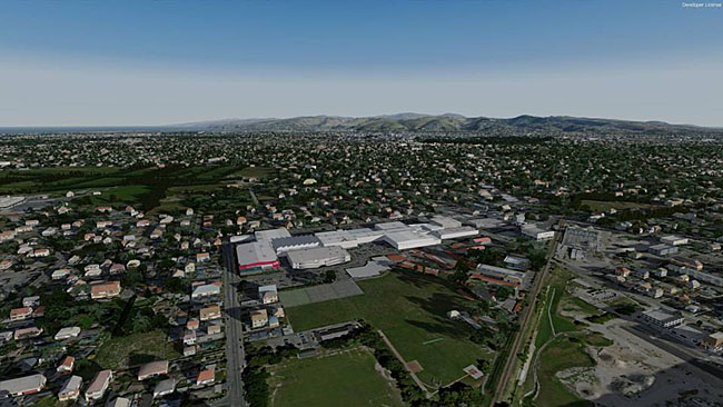 Godzone Virtual Flight - Christchurch Airport