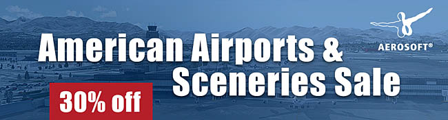 Aerosoft - American Airports And Sceneries Sale