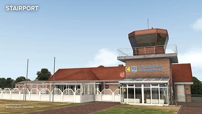Aerosoft Previews Langeoog Airport