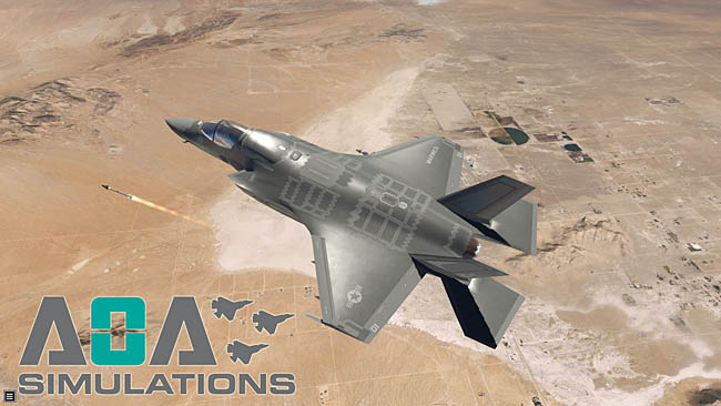 AOA Simulations F-35B Redesign
