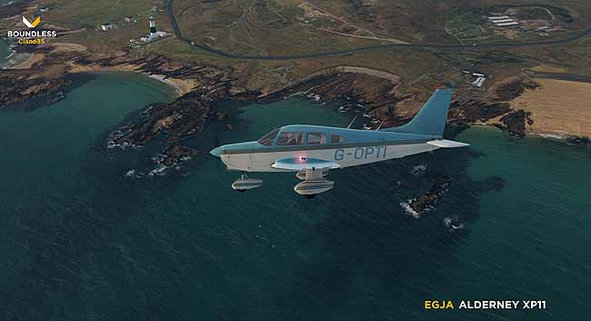 Boundless Simulations Announces Alderney For X-Plane