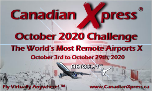 Canadian Xpress October 2020 Monthly Challenge