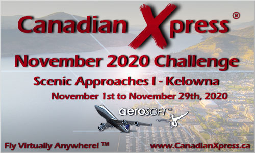 Canadian Xpress November 2020 Monthly Challenge