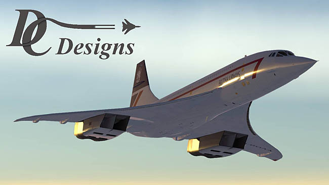 DC Designs Concorde released for FSX/P3D