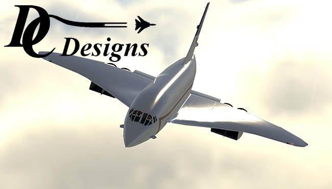 DC Designs Concorde Progress Update