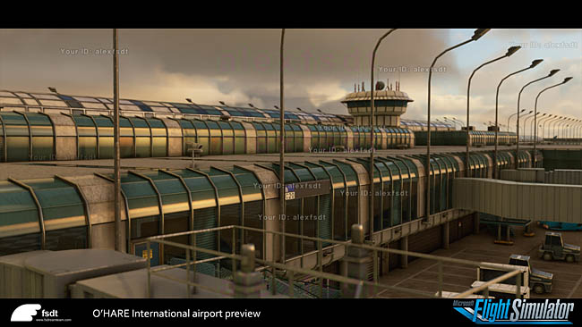 FSDreamTeam Previews Chicago O'Hare For MSFS