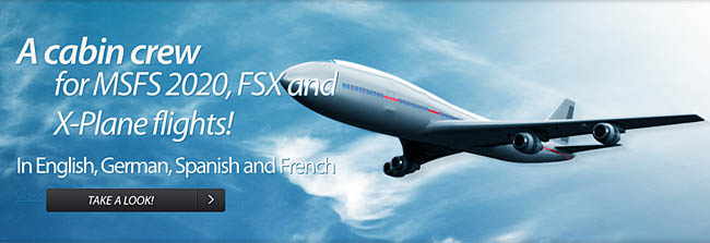 FS Cabin Crew Is Now Available For MSFS 2020