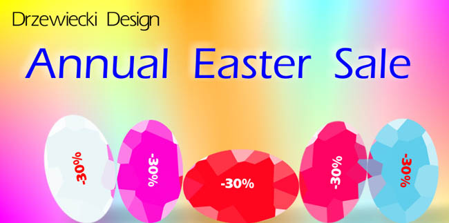 Drzewiecki Design Annual Easter Sale Starts Today