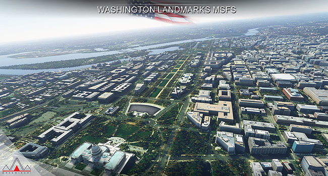 Drzewiecki Design - Washington Landmarks for MSFS