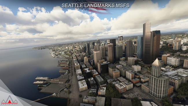 Drzewiecki Design - Seattle Landmarks for MSFS