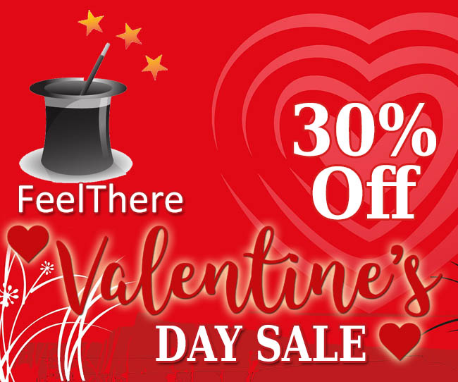 FeelThere Valentines Day Sale