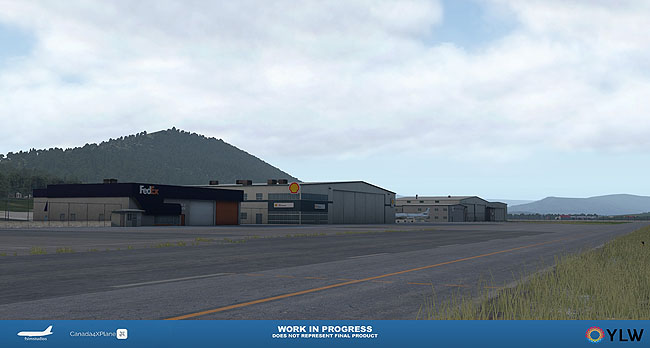 Kelowna International Airport Coming To X-Plane 11