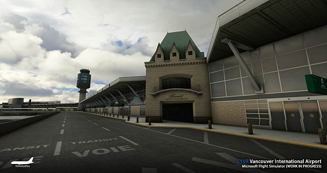 FSimStudios Previews Vancouver Airport