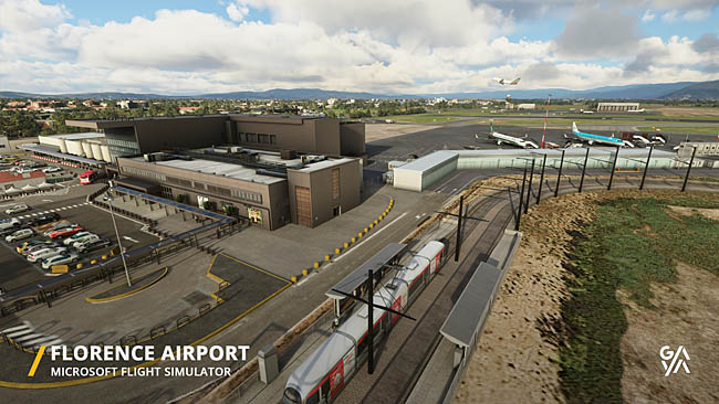 Gaya Simulations Update On LIRQ Florence Airport MSFS
