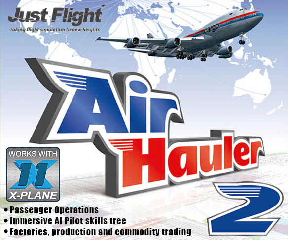 Just Flight - Air Hauler 2 for X-Plane 11 Updated