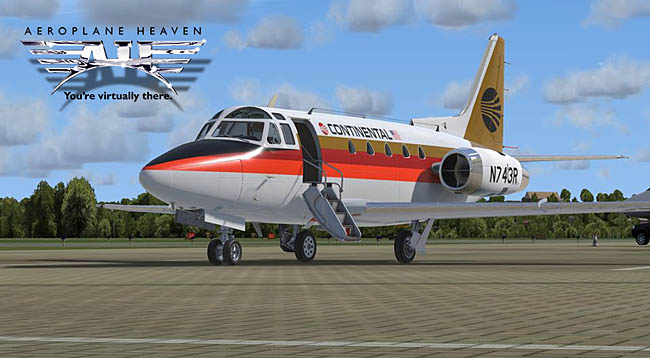 Aeroplane Heaven Previews Sabreliner For P3D v4/v5