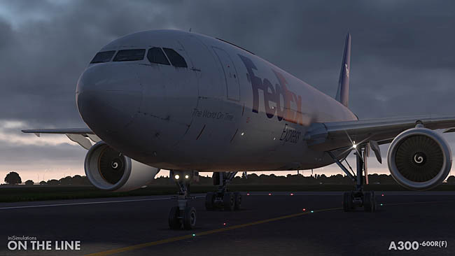 iniSimulations A300-600R(F) On The Line Released